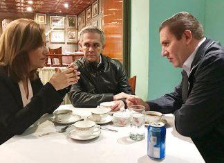 Reunión de Margarita Zavala y Moreno Valle por posible alianza