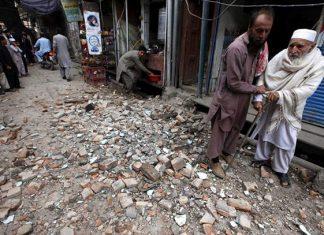 Sismo estremece Afganistán y Pakistán