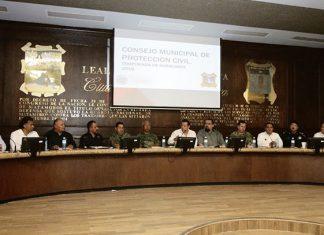 Activan Consejo Municipal de Protección Civil para la temporada de huracanes