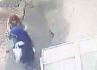 El suelo se 'traga' a dos mujeres en Turquía (Vídeo)