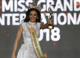 Miss Paraguay se desmaya al ganar Miss Grand International 2018