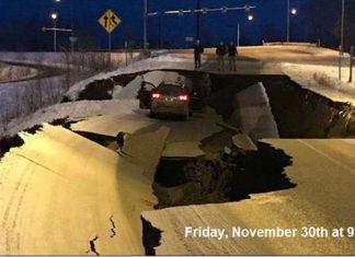 Carreteras dañadas por sismo en Alaska quedan como nuevas