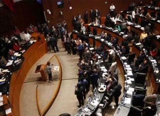 Senado cierra periodo ordinario de sesiones