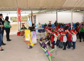 Lleva 'Unidos por Reynosa' alegría y diversión a escuelas
