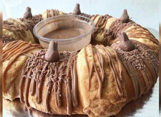 ¡Llegó la rosca de Reyes con conejitos de chocolate!