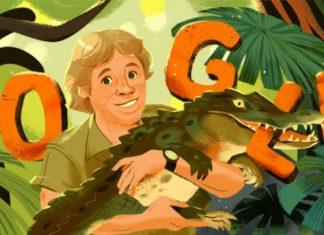 Google recordó al cazador de cocodrilos en el doodle de hoy