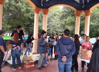 Inicia colecta de alimentos para obreros que continúan en lucha por el 20/32