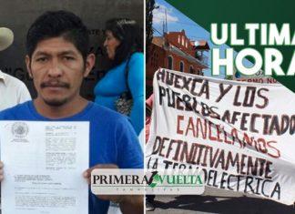 Matan a líder opositor a termoeléctrica en Morelos