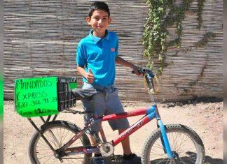 Julio, un niño emprendedor y con muchas metas