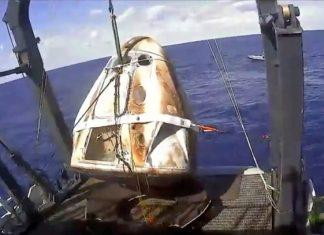 La cápsula de SpaceX regresó con éxito a la Tierra
