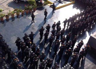 Refuerzan seguridad en Morelos con 200 policías federales