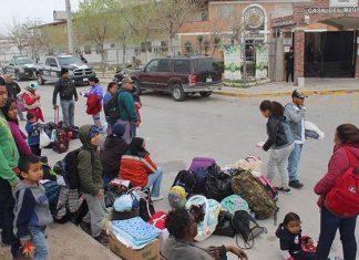 Logran sueño americano 13 migrantes en puente Reynosa-Hidalgo
