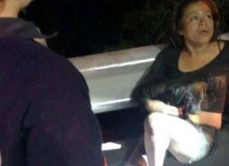Mujer intenta rescatar a perro y cae a Río Santa Catarina