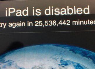 Niño bloquea iPad de su papá por 48 años