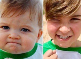 Niño del meme 'bebé exitoso' salva la vida de su papá