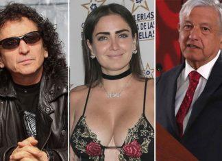 """Alex Lora se disculpa con AMLO por """"broma"""" de su hija"""