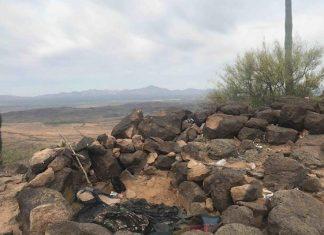 Detienen a 14 que ocultaban droga en un campamento en Sonora