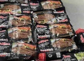 Detienen a mujer por robar artículos para carne asada en Monterrey