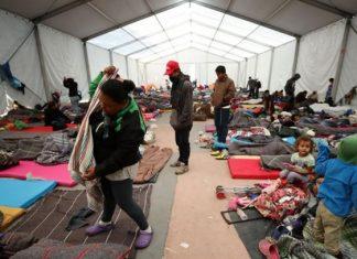 Saturan migrantes albergues en estados donde no era común