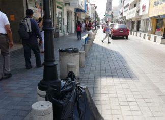 Multas de 5 mil pesos a quienes ensucien calles de Tampico
