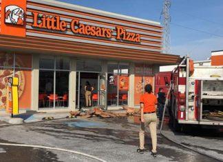 Reportan conato de incendio en pizzería de Matamoros
