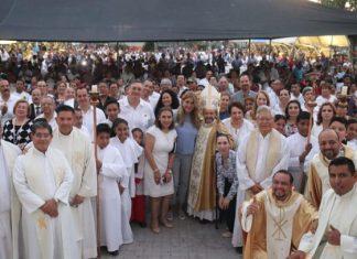 Celebran en Reynosa Jubileo de la Diócesis de Matamoros