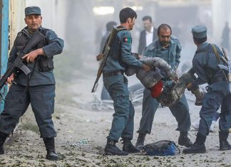 Nueve personas muertas tras ataque suicida en Afganistán