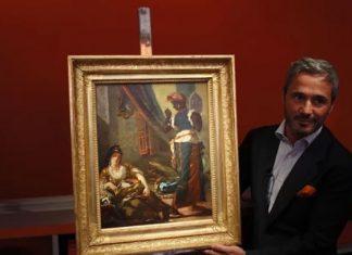 Pintura perdida de Delacroix desde 1850, en venta