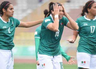 La selección femenil mexicana cae ante Perú