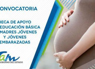Ofrecen beca a madres jóvenes y jóvenes embarazadas en Tamaulipas