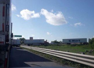 Caos por cierre de Puente Reynosa-Pharr