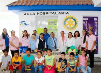 """Cierra actividades el Programa Estatal """"Aulas Hospitalarias"""""""