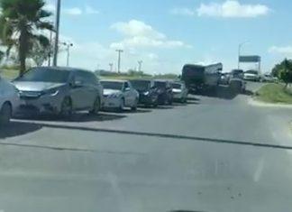 Filas de más de dos horas en Puente Internacional Reynosa-Hidalgo