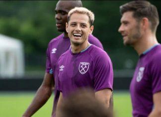 ''Chicharito'' debuta en la Premier League ante el campeón