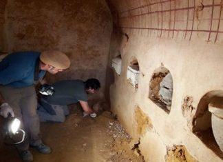 Encuentran un mausoleo funerario romano de hace 2 mil años