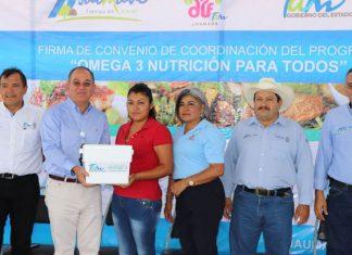 Implementan programa de nutrición en Jaumave, Miquihuana y Ocampo