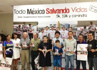 Invita Cruz Roja a carrera para recolectar fondos económicos
