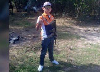 Juanito el niño pistolas muere