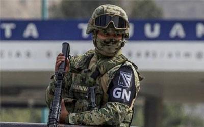 La Guardia Nacional tiene 58 mil efectivos y asegura que reclutara mas