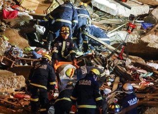 Mueren seis personas por derrumbe de casa en Chile