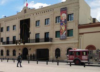 Amenaza de bomba en Presidencia Municipal