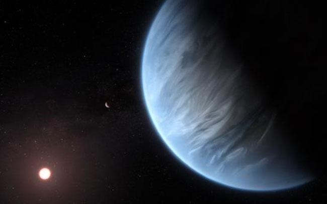 Descubren agua en un mundo potencialmente habitable