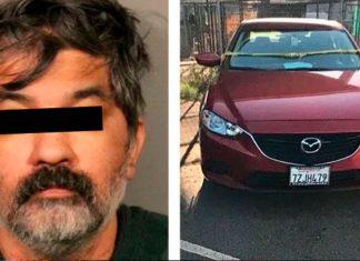 Mató a 4 familiares, metió a uno en la cajuela y se entregó a la policía