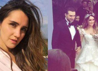 Filtran en redes sociales fotos de la boda de Dulce María