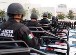 Llegan 100 policías para reforzar seguridad en Nuevo Laredo