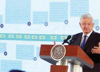 López Obrador pide más tiempo para afianzar la 4T