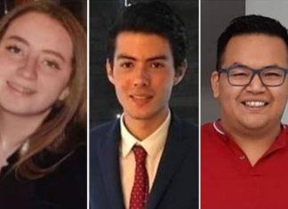 3 jóvenes que desaparecieron en Veracruz