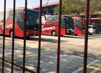 Embargan camiones y cuentas bancarias del Veracruz