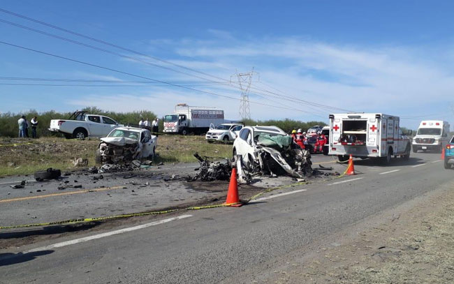 Muere matrimonio en accidente carretero