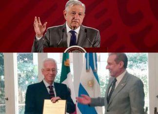 """Pide AMLO evitar """"linchamiento"""" a embajador"""